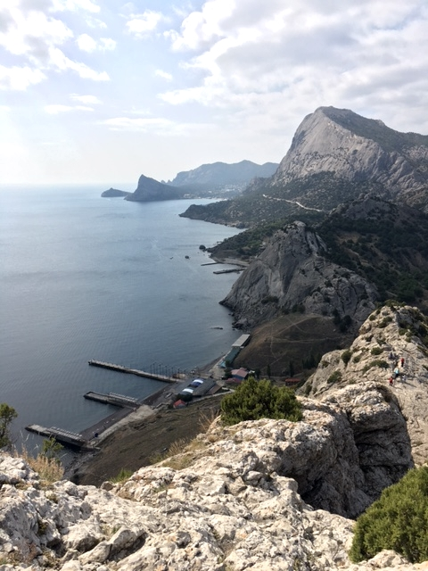 Судак. Генуэзская крепость. Вид в сторону Нового Света.